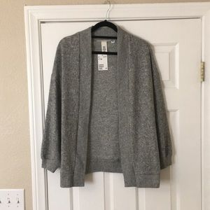 Soft oversized cardigan